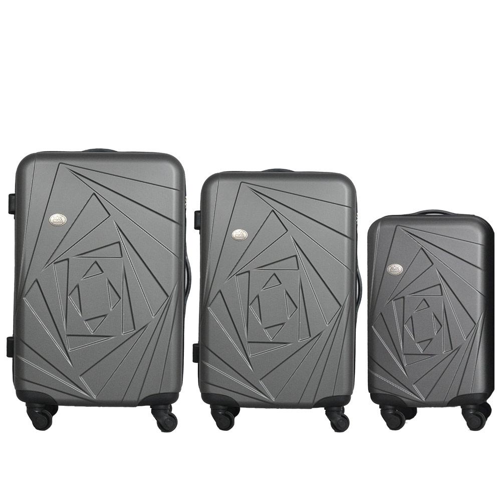 Mon Bagage 巴黎風情系列ABS輕硬殼 28寸 24寸 20寸 三件組 旅行箱 行李箱 4