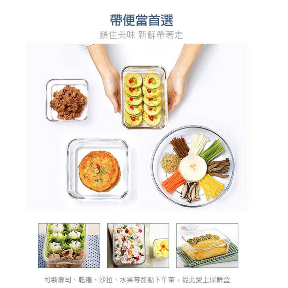Glasslock 附提把手提強化玻璃保鮮盒- 2500ml/韓國製造/可微波/野餐手提款/耐瞬間溫差120度/減塑餐盒 7