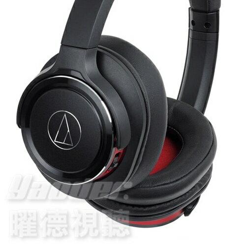 <br/><br/>  【曜德★新上市】鐵三角 ATH-WS660BT 黑紅 重低音無線藍芽 耳罩式耳機 持續40hr ★免運★送收納袋★<br/><br/>