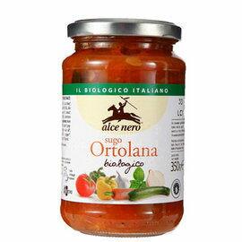 有機尼諾~切丁蔬菜番茄義大利麵醬350公克/罐