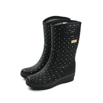 Moonstar 雨鞋 女鞋 黑色 no037【不可超取】