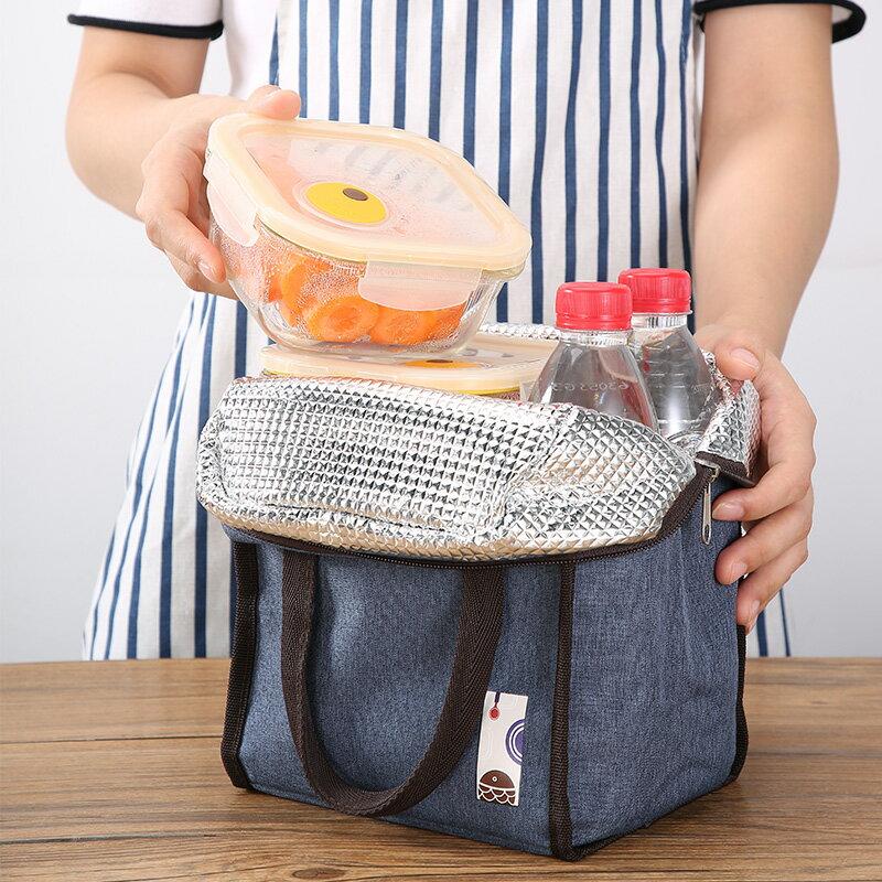 美廚 大容量加厚鋁箔飯盒袋提鍋保溫袋保溫  免運