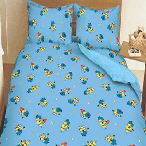 【名流寢飾家居館】神偷奶爸.標準雙人床包組薄被套全套.全程臺灣製造