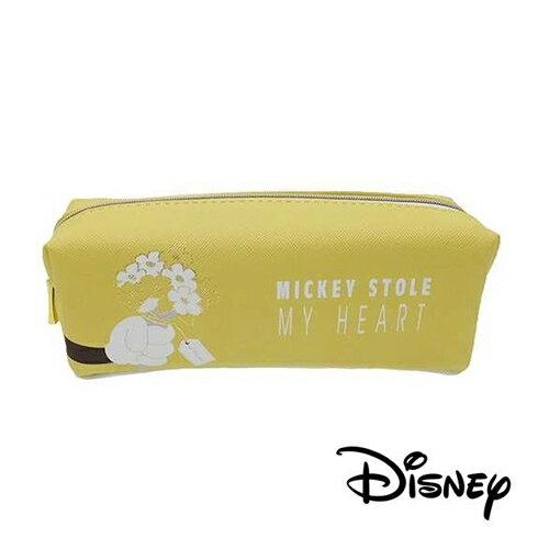 sightme看過來購物城:【日本進口】米奇Mickey米老鼠系列皮革立體筆袋鉛筆盒迪士尼Disney-700983
