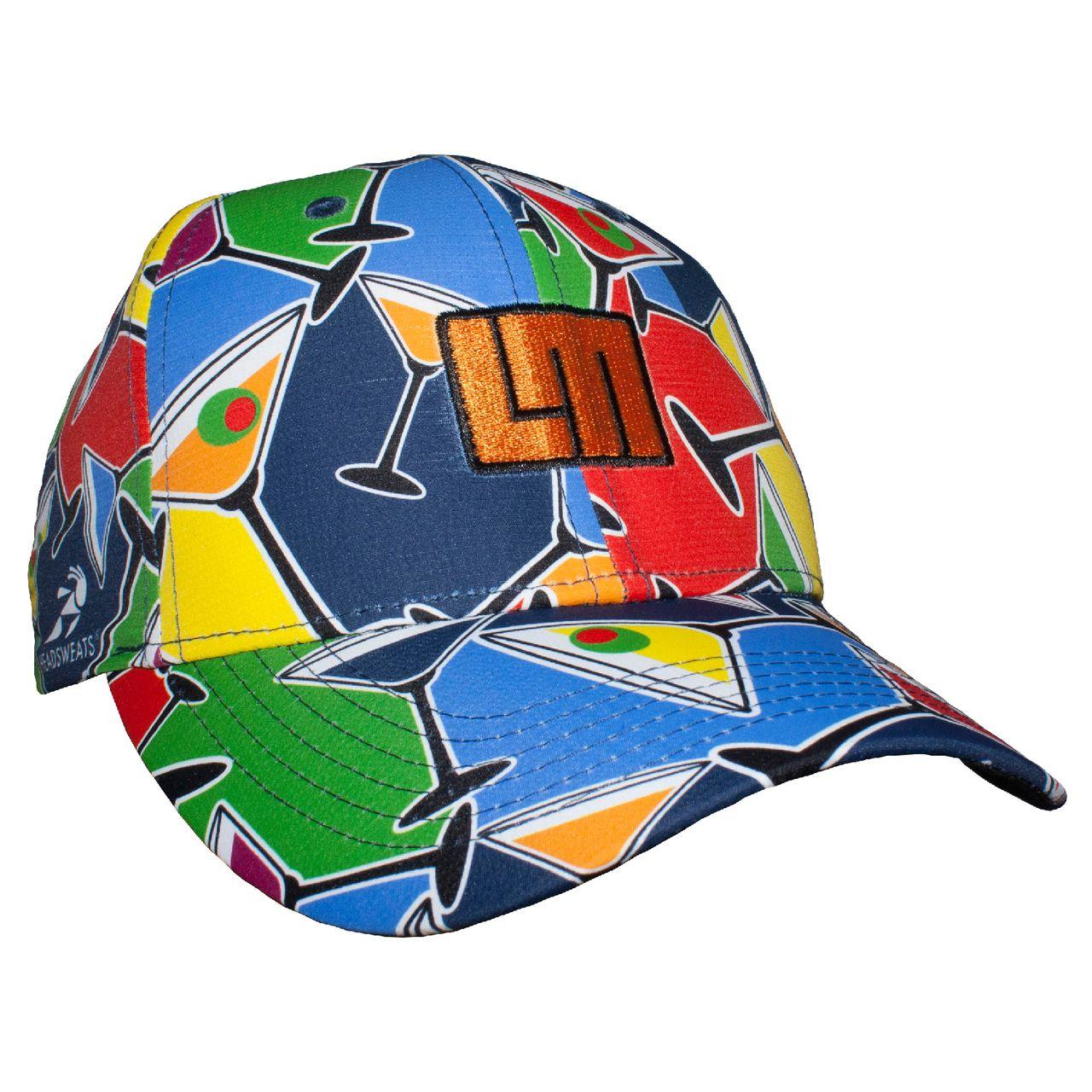LOUDMOUTH 英國高爾夫服飾品牌-彩色雞尾酒休閒運動帽
