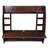 Wall Mounted Floating Computer Desk with Storage Shelves Laptop Home Office Furniture Black Walnut 2