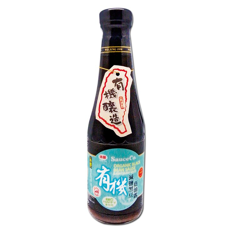 【味榮】極釀級 有機黑豆減鹽蔭油露320ml - 限時優惠好康折扣