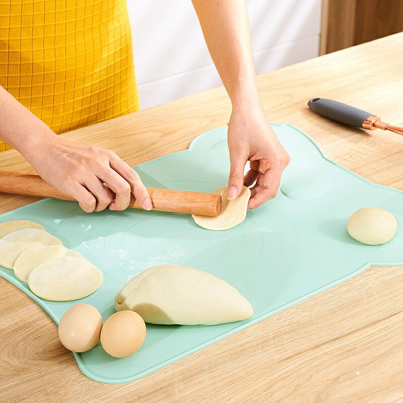 揉麵墊 麵板 揉面墊硅膠大號加厚硅膠墊家用搟面墊烘焙和面墊防滑『全館免運 領取下標更優惠』