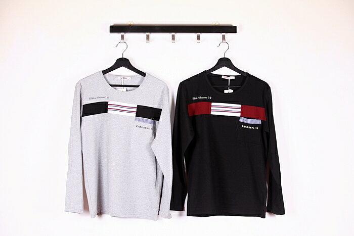 【CS衣舖 】 彈力伸縮 高質感 長袖T恤 3310 5