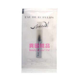 Salvador Dali Eau De Ruby Lips 女性針管香水 1.5ml EDT SAMPLE VIAL【特價】§異國精品§