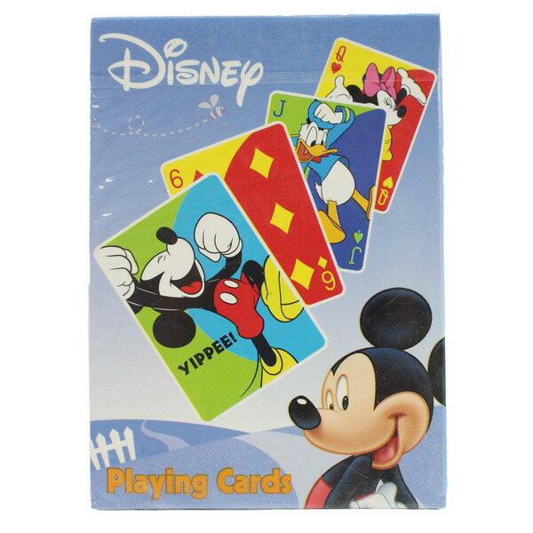 DISNEY米老鼠橋牌撲克牌USA美國製造一副入{特50}~文S1073520