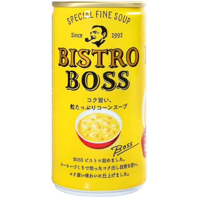 【江戶物語】單罐185g SUNTORY BOSS玉米濃湯 三得利 易開罐 玉米濃湯 日本進口 冬天溫暖首選