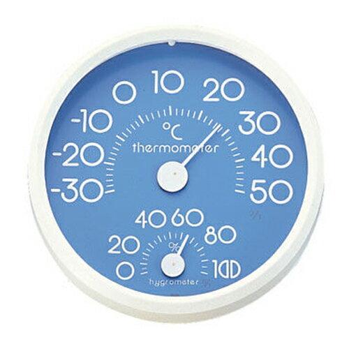 【CRECER 溫、濕度計】日本製 HD75/HD-75 溫/濕度計時鐘型 15cm