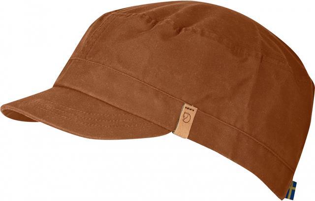 Fjallraven 瑞典北極狐 77279 Sarek Trekking Cap G-1000 復古鴨舌帽/獵裝帽/軍裝遮陽帽 372鐵鏽色