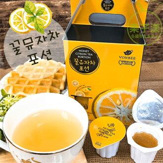 韓國VONBEE 蜂蜜柚子茶球(10個入)禮盒 [KR401]