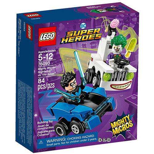 樂高積木LEGO《LT76093》2018年SUPERHEROES超級英雄系列-MightyMicros:Nightwing™vs.TheJoker™