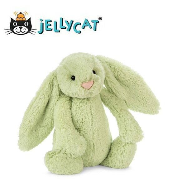★啦啦看世界★Jellycat英國玩具18公分綠小兔玩偶彌月禮生日禮物情人節聖誕節明星療癒辦公室小物