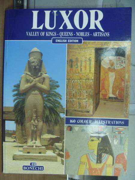 【書寶二手書T3/旅遊_PAP】Luxor_1995