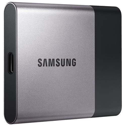 Samsung T3 MU-PT500B/AM 500 GB External Solid State Drive - USB 3.1 - 450 MB/s Maximum Read Transfer Rate - 450 MB/s Maximum Write Transfer Rate - Portable - 256-bit Encryption Standard 1