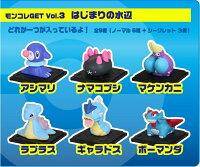 Pokemon:精靈寶可夢到TOMY 神奇寶貝 G_03 寶可夢 GET 第三彈(單包) 抽抽包 隨機出貨