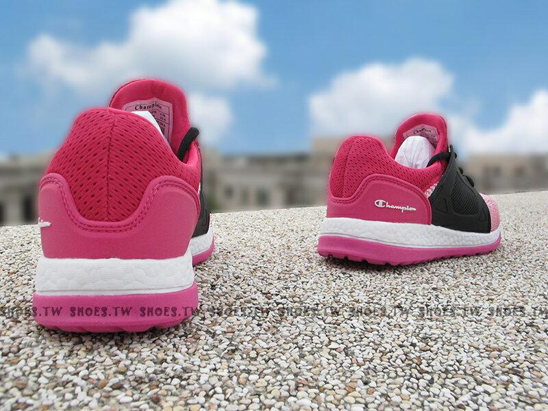 《限時特價799元》Shoestw【732220166】Champion 休閒鞋 ATHLETIC 粉桃黑 襪套 網布 女生 2