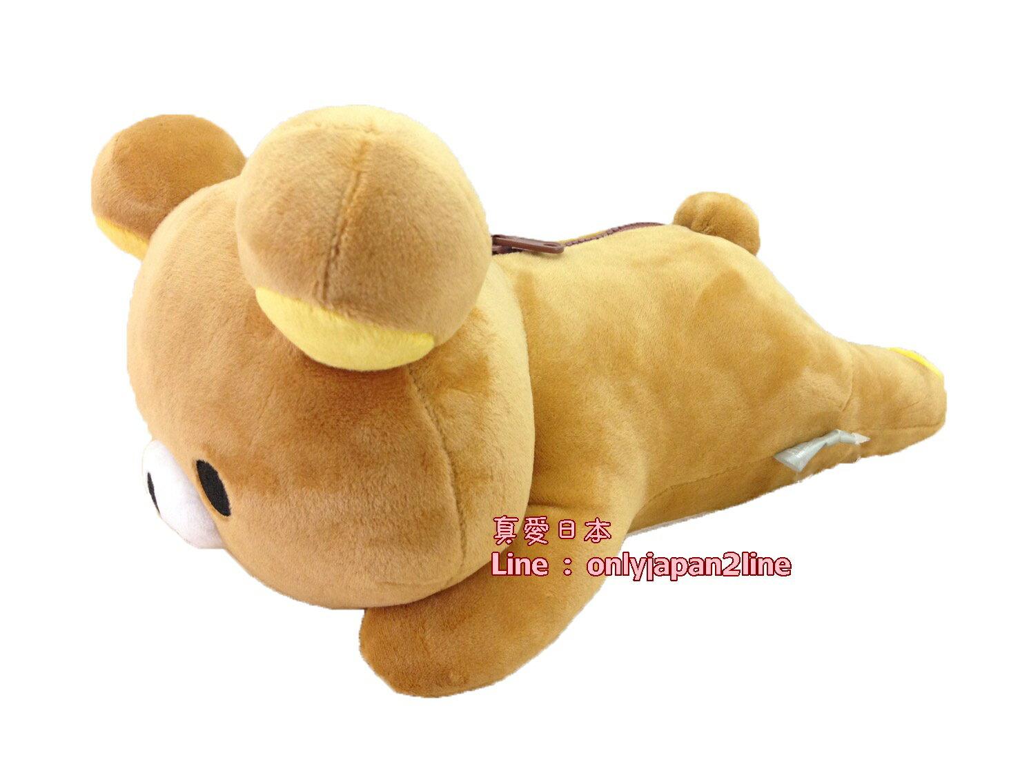 【真愛日本】1605270001212吋趴姿娃-懶熊30CM 拉拉熊 Rilakkuma 娃娃 抱枕 靠枕