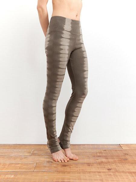 【Bali】有機棉波紋踩腳褲 1