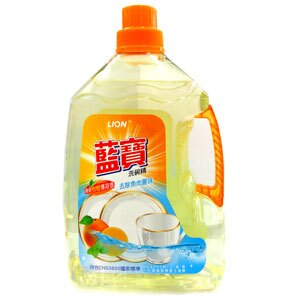 LION獅王 藍寶洗碗精-柑橙薄荷香 3000g
