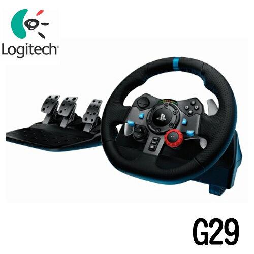 Logitech 羅技 G29 力回饋賽車方向盤(PC/PS4-適用)【首購滿699送100點】