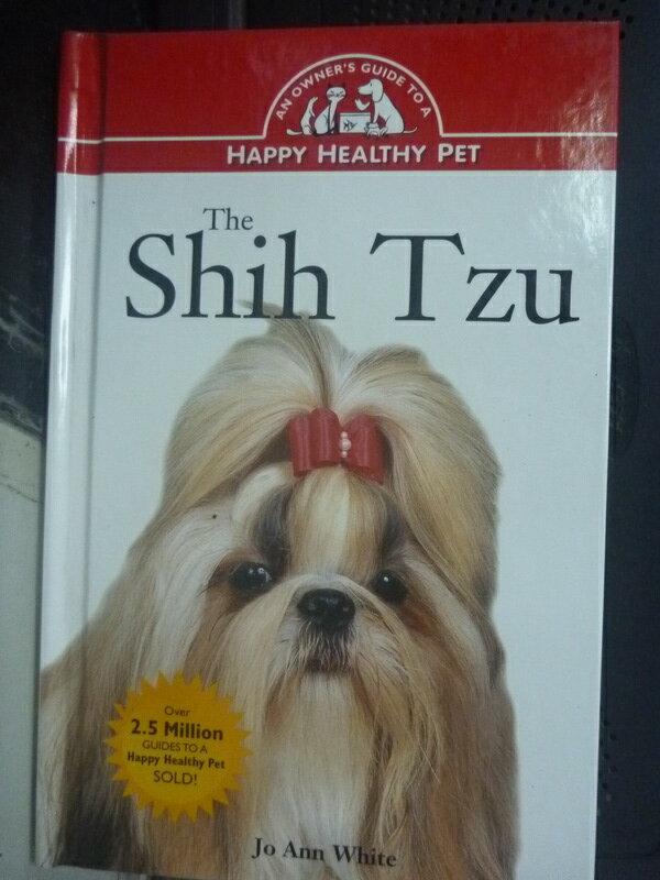 【書寶二手書T8/科學_HCN】The Shih Tzu_White, Jo Ann