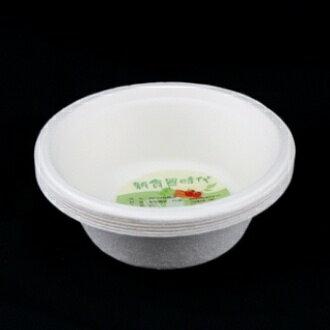 【珍昕】 新食器食時代-390ml 環保植纖碗~6入