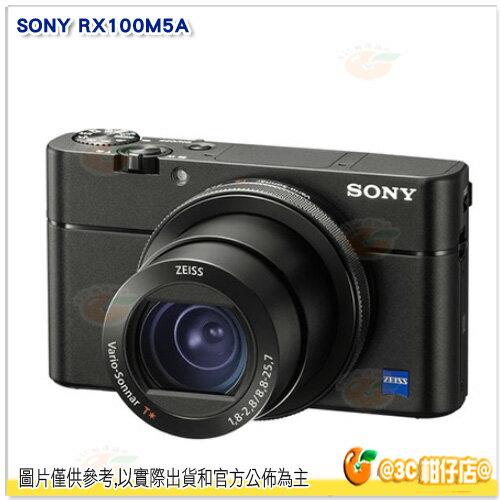 送64G95M高速卡+原電+座充+相機包等10好禮SONYDSC-RX100VARX100M5A數位相機台灣索尼公司貨RX100五代4K