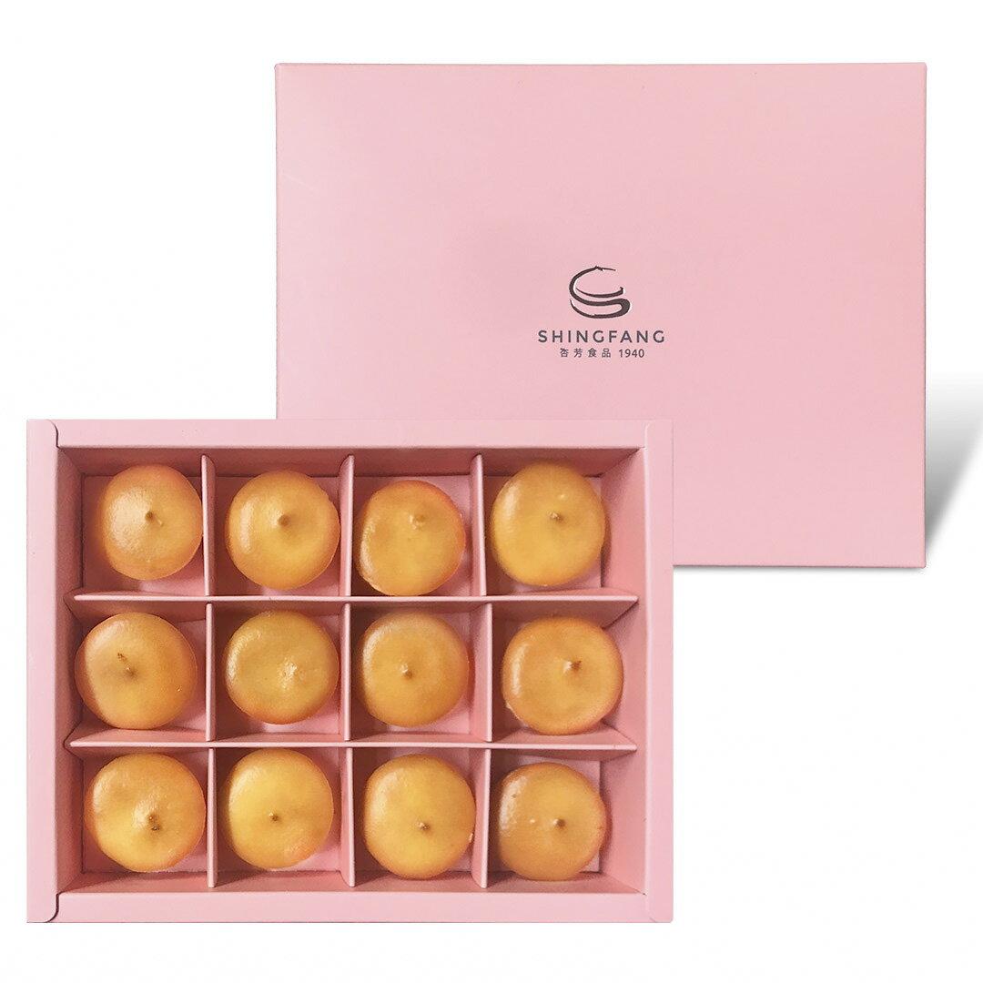 【多件優惠】原味乳酪球禮盒1盒(12入)(免運)【杏芳食品】