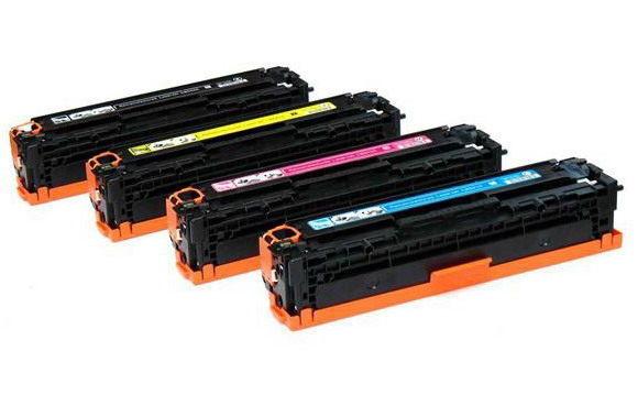 【非印不可】HP CB542A 黃色 (單支) 相容環保碳匣 適用CP1300/CP1215/1510/1515n/1518ni  CM1312mfp/CM1512mfp