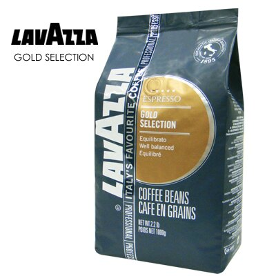 義大利【LAVAZZA】GOLD SELECTION 咖啡豆(1000g)