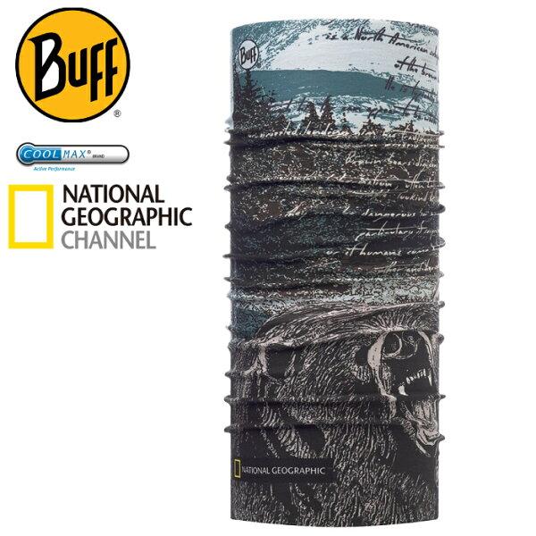 Buff高防曬CoolMax抗UV魔術頭巾國家地理頻道117131森林熊蹤路跑馬拉松健行登山