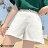 F-DNA★丹寧闊腿A字牛仔短褲(4色-26-32碼)【ET12692】 6