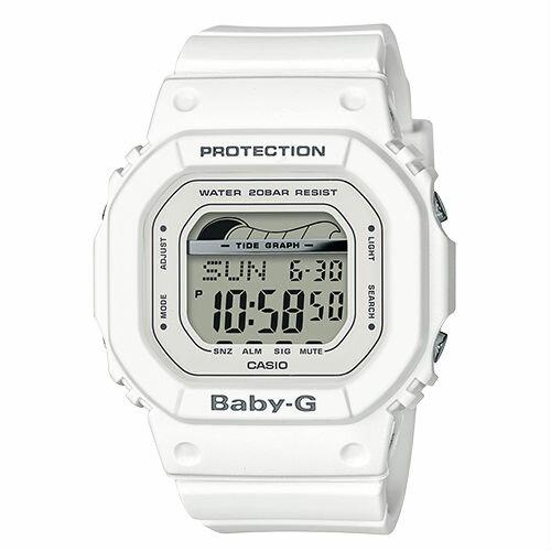 CASIO卡西歐BABY-GBLX-560-7夏季海灘復古滑板潮汐數位腕錶