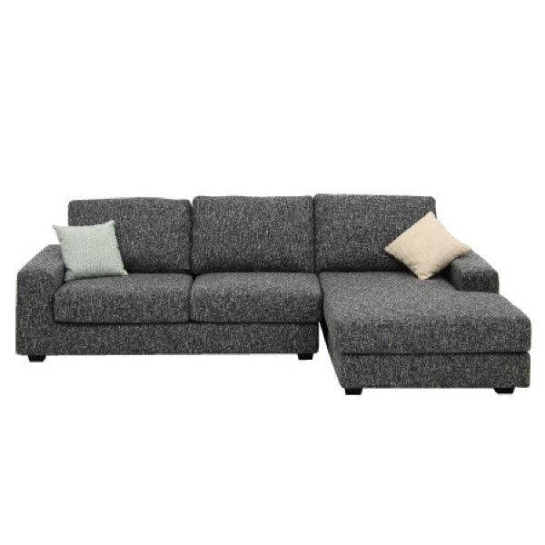 ◎布質左躺椅L型沙發 GRAND DGY  NITORI宜得利家居 1