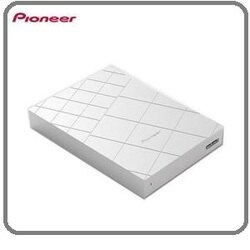 Pioneer APS-XH01 銀USB 3.0 2.5吋行動硬碟 支援Mac/Windows 雙系統使用