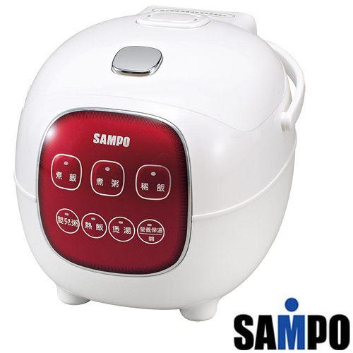 免運費【SAMPO聲寶】4人份微電腦電子鍋/KS-BF04M