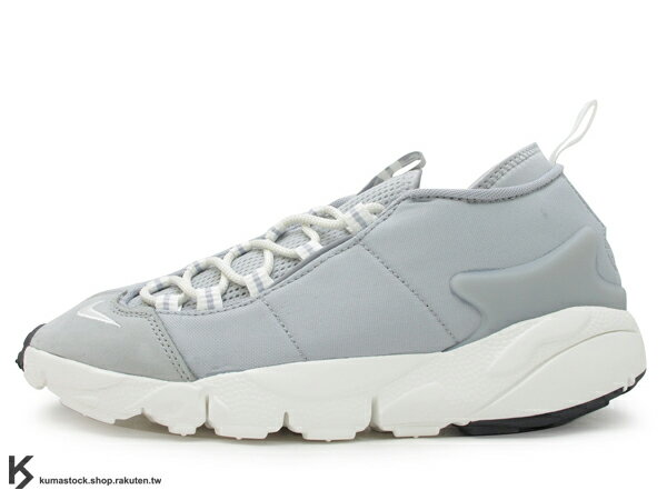 2017 重出江湖 藤原浩 最愛鞋款 NIKE AIR FOOTSCAPE NM 灰白 側綁 NATURAL MOTION 舒適輕量中底 (852629-003) 0117