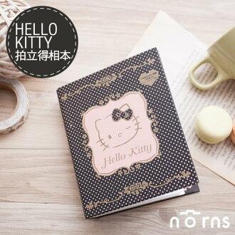 NORNS 【黑色點點Hello Kitty拍立得相本】凱蒂貓 拍立得照片 相簿 相冊