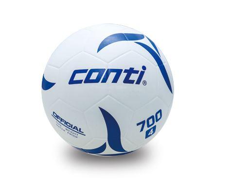 [陽光樂活] CONTI 足球 軟橡膠足球(5號球) 白 S700F-5-W
