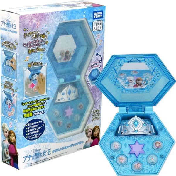 冰雪奇緣2閃亮亮音樂飾品盒  東喬精品百貨
