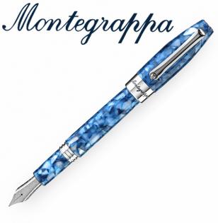 義大利Montegrappa萬特佳財富馬賽克系列-鋼筆(海洋藍)ISFOB_ID支