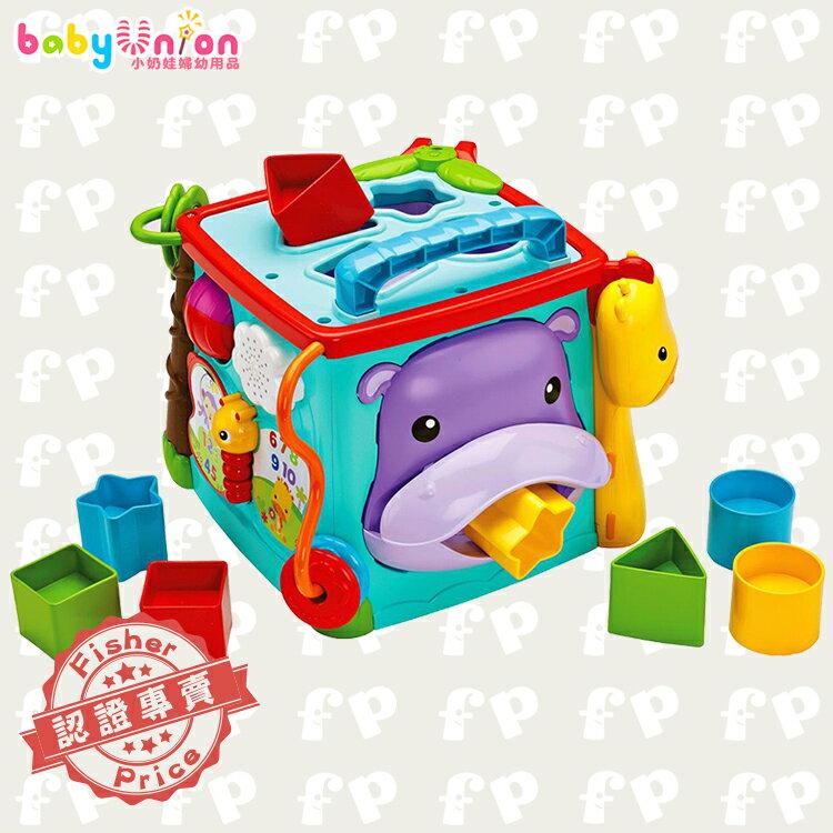 Fisher-Price費雪 - 可愛動物積木盒
