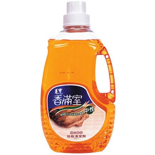 香滿室 中性地板清潔劑 檀木馨香 2000g