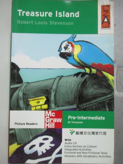 ~書寶 書T6/語言學習_WEL~Treasure Island_Robert Louis