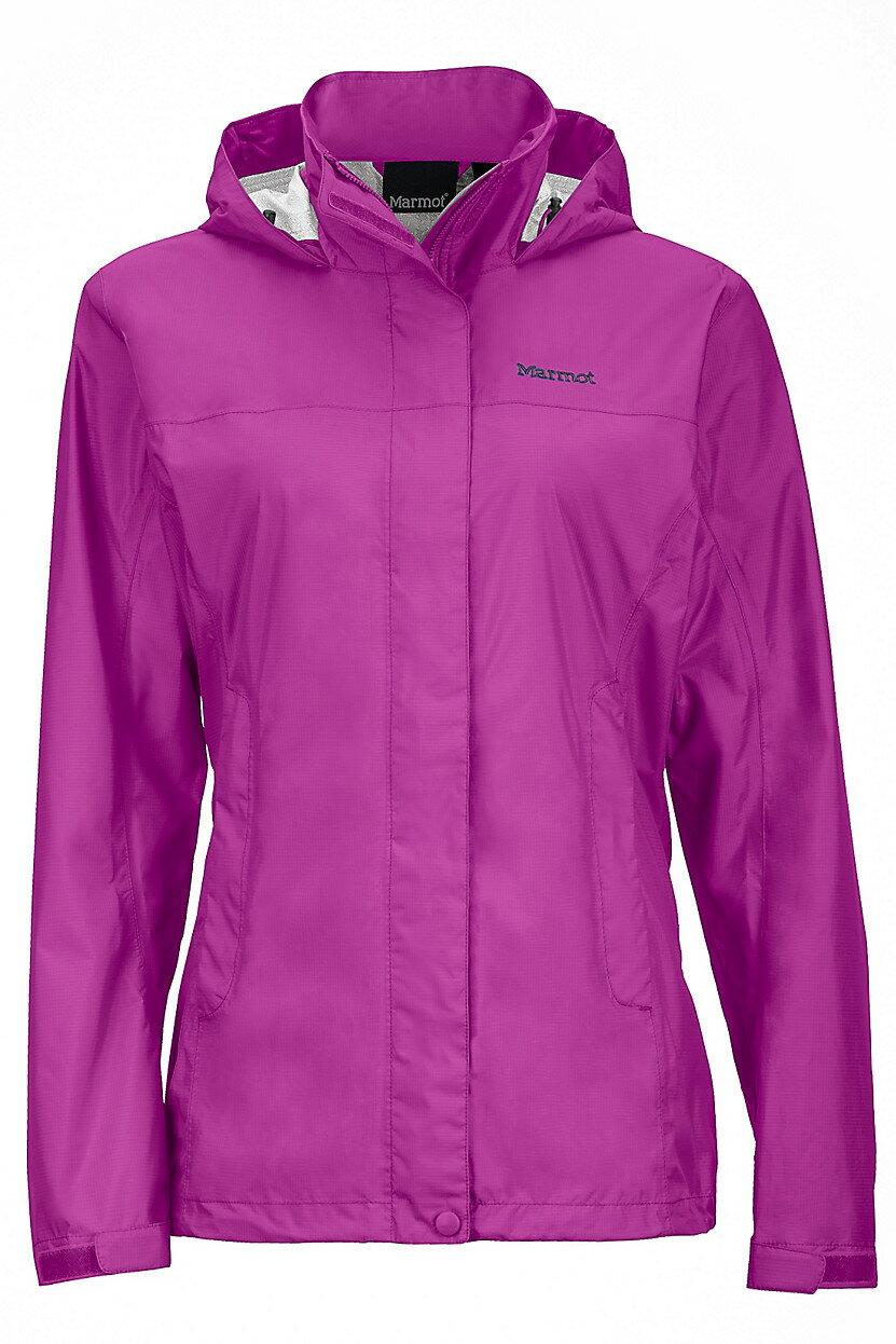 ├登山樂┤美國Marmot土撥鼠 Women's PreCip 女款防水外套/風雨衣 紫紅#46200-9450